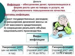 Инфляция её сущность и виды Реферат Реферат по обществознанию на тему инфляция