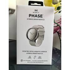 Đồng Hồ Thông Minh Theo Dõi Sức Khỏe MISFIT PHASE (bản màu bạc dây nhựa)