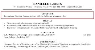 Art History Resumes Resume Objective Examples For Sales Representative General