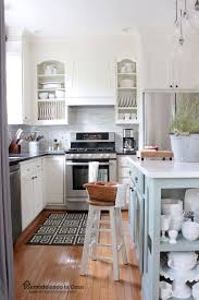 Creative diy easy kitchen makeovers Decor Give Your Cabinets More Custom Feel By Adding Kitchen Counter Posts And Molding From cuckoo Design This Is Simple Afternoon Kitchen Makeover The Budget Decorator Diy Budget Kitchen Makeovers One Project At Time The Budget
