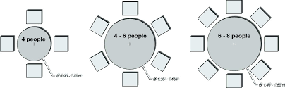 person dining table dimensions room size for unique 8 round 10 style 100 tab