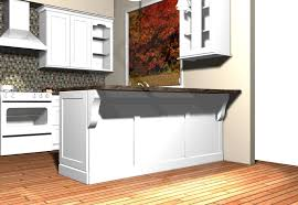 Kitchen Island Back Panel Kitchens Design