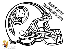 Nfl Football Helmets Coloring Pages Getcoloringpagescom