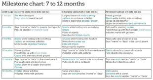 6 Month Old Baby Development Chart 10 Month Old Baby Development Chart Www Bedowntowndaytona Com