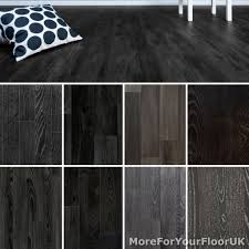 details about black wood plank vinyl flooring realistic style flooring lino kitchen bathroom