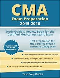 Cma Exam Preparation 2015 2016 Study Guide Review Book For The