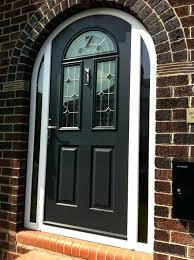 arched front door stunning arched door in anthracite grey traditional double entry doors arched double front arched front door