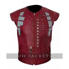 guardians of the galaxy peter quill leather vest