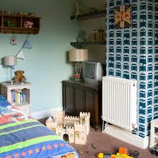 Boysu0027 Bedroom With Car Wallpaper Feature Wall