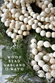 DIY Extra-Long <b>Wood Bead</b> Garland, 3 Ways • Ugly Duckling House