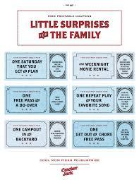 Printable Homemade Coupons Free Printable Coupons That Make Awesome Family Gifts
