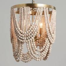 world market whitewash wood dd bead 4 light chandelier view full size