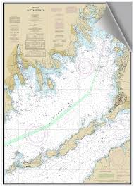 Nautical Chart Buzzards Bay Ma Amazon Com Buzzards Bay Ma Decorative Nautical Chart