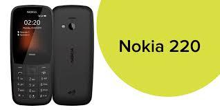 Shop Nokia 220 Black 24MB 4G LTE online ...