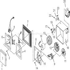 broan 679 parts list and diagram ereplacementparts com broan bathroom fan wiring diagram Broan Fan Wire Diagram #21