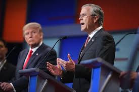 Image result for trump/jeb bush