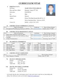 Contoh Resume Doc Free Resume Example And Writing Download