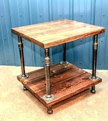 pipe table base copper pipe side table diy