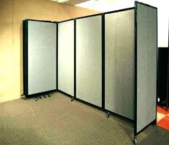 retractable wall dividers mounted room divider accordion style folding separator ideas wa