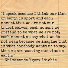 Chimamanda Ngozi Adichie Quotes 58 Inspiration 24 Best Quotes Images On Pinterest Chimamanda Ngozi Adichie Life