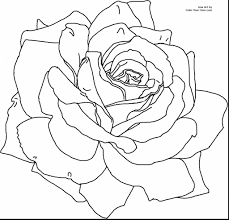 Cooloring Book Excelent Spring Flower Coloring Pages Realistic