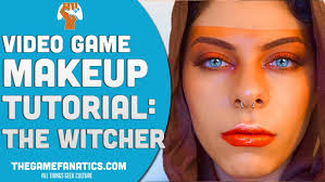 share with you something diffe a video game makeup tutorial as part of our collaboration with a good friend of mine and makeup artist maie ai
