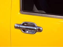 putco chrome door handle covers on chevy colorado