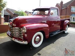 1949 Chevrolet 3100 Pick up Truck 1/2 ton 60k miles Restored and ...