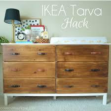 ikea hack tarva dresser diy. Ikea Tarva Dresser Hack Diy