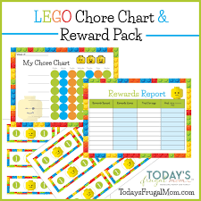 Chore Chart Incentives Free Lego Chore Chart Reward Pack Tanners Board Chore