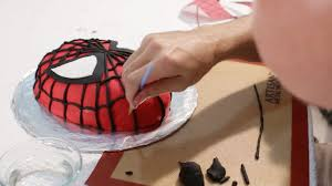 How To Make A Spiderman Cake 10 Steps With Pictures