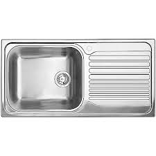Small Picture Blanco Single Bowl Right Hand Drainboard Topmount Stainless Steel
