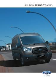 Ford Transit Traction Control Light Stays On All New Transit Cargo Manualzz Com