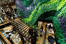 general view of the interior during the west elm london grand opening party ian gavan getty images for west elm