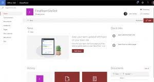 Sharepoint Team Site Template Sharepoint Modern Team Site Permissions New Signature