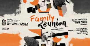Family Reunion Poster Design Ra Family Reunion At Rolling Stock London 2017