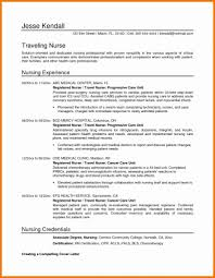 Nursing Student Sample Resume Template Free Cover Letter Practical