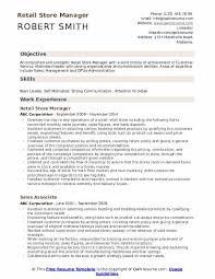 areas of expertise for customer service retail store manager resume samples qwikresume