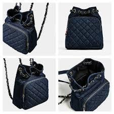 ZARA BLUE DENIM QUILTED MINI BACKPACK - REF: 8459/104 | eBay &  Adamdwight.com