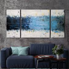 'Wake Up ' Hand-painted 3-piece Gallery-wrapped Canvas Art Set - Free  Shipping Today - Overstock.com - 16871641