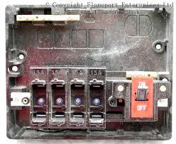 memera 3 four way plastic cartridge fusebox internal view of a memera 3 plastic fusebox