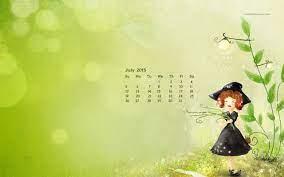 Desktop Wallpapers Calendar July ...