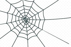無料のクモの巣イラスト クリスマスハロウィンお正月イラスト