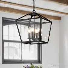 pendant lighting industrial. brilliant industrial discount retro pendant light industrial black iron cage chandeliers 4  foyer hanging lantern glass lamp living room dining bar  to lighting
