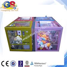 Toy Prize Vending Machine Simple Cube Claw Crane Machine For Sale Fashionable Prize Vending Machine