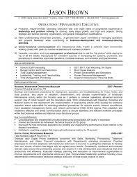 Plant Manager Resume Example Simple Manufacturing Operations Manager Resume Examples Plant 2