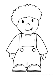 Small Picture Free coloring pages girls and boys perfect for My Body theme