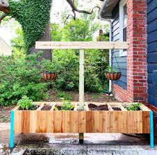 raised vegetable garden with compost