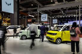 In addition to hong qi, bingo, sitech and haima are faw's most popular electric car brands. Shanghai Auto Show 2021 In Pictures From Tesla And Benz To Byd And Nio Bloomberg
