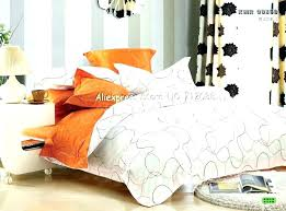 grey and orange comforter orange and grey bedding orange comforter great orange silver grey bedding set